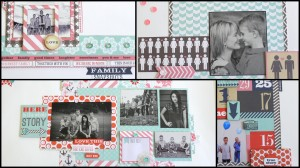 family stories collage